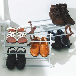【週末限定クーポン】玄関収納 シューズラック シューズシェルフ 幅46cm ( 玄関収納 靴 収納 ラック 靴入れ スリム ) interior-palette