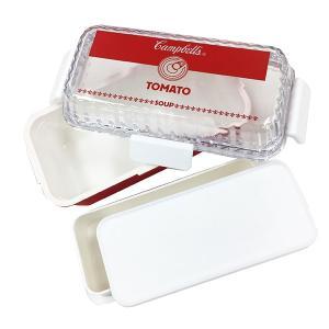 特価 お弁当箱 スクエアランチボックス 2段 キャンベル 590ml ( 弁当箱 レンジ対応 日本製 )|interior-palette|03