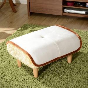 オットマン 食パン型 スツール ポケットコイル 幅58cm ( チェア 椅子 いす イス 足置き台 フットレスト )|interior-palette