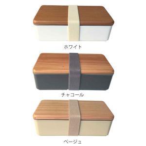 お弁当箱 木蓋のお弁当箱 和風 木蓋 1段 500ml 土佐古代杉使用 ( 弁当箱 ランチボックス 日本製 )|interior-palette|03