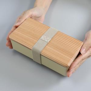 お弁当箱 木蓋のお弁当箱 和風 木蓋 1段 500ml 土佐古代杉使用 ( 弁当箱 ランチボックス 日本製 )|interior-palette|05