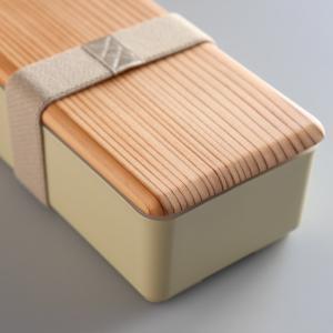 お弁当箱 木蓋のお弁当箱 和風 木蓋 1段 500ml 土佐古代杉使用 ( 弁当箱 ランチボックス 日本製 )|interior-palette|06