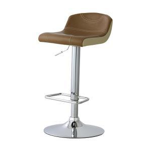 【週末限定クーポン】カウンターチェア 椅子 ローバック ソフトレザー 座面高62〜82cm ( イス いす チェア チェアー 回転椅子 回転いす )|interior-palette