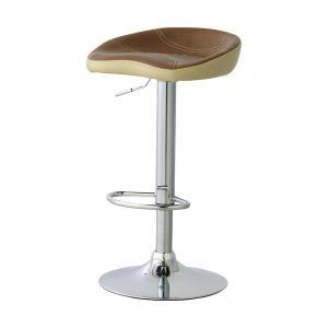 【週末限定クーポン】カウンタースツール 椅子 ソフトレザー 座面高62〜82cm ( イス いす チェア チェアー 回転椅子 回転いす )|interior-palette