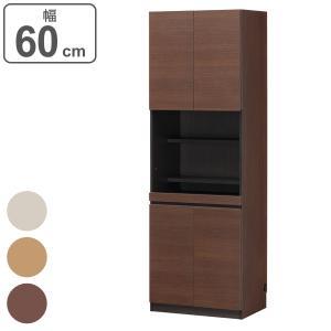 デスクラック 扉付 壁面収納 ポルターレ 幅60cm ( 壁面キャビネット 棚 ラック 収納 リビング収納 ) interior-palette