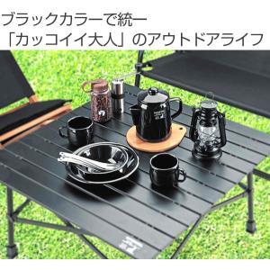 ホーローケットル キャプテンスタッグ ブラックラベル 1.1L ( ケトル 琺瑯 アウトドア ) interior-palette 02