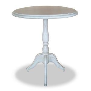 【週末限定クーポン】テーブル カフェテーブル クラシック調 メゾン 直径55cm ( コーヒーテーブル サイドテーブル リビングテーブル )|interior-palette