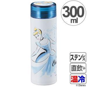 水筒 軽量スリムパーソナルボトル 300ml ディズニー シンデレラ フローラル ( マグボトル ステンレス Disney )|interior-palette