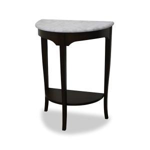 【ポイント最大26倍】コンソールテーブル 天然木 クラシック調 大理石天板 ルシール 幅60cm ( テーブル 机 サイドテーブル )|interior-palette