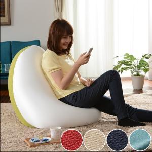 ビーズクッション しずく型 和楽の雫 Lサイズ ( クッション ビーズ フロアクッション ビーズソファ )|interior-palette