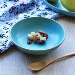 ボウル 14cm Blueシリーズ 陶器 食器 笠間焼 日本製 ( 食洗機対応 電子レンジ対応 皿 小鉢 小皿 デザート )|interior-palette
