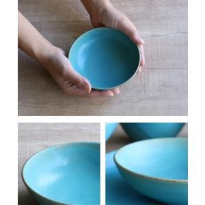 ボウル 14cm Blueシリーズ 陶器 食器 笠間焼 日本製 ( 食洗機対応 電子レンジ対応 皿 小鉢 小皿 デザート )|interior-palette|06