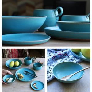 ボウル 14cm Blueシリーズ 陶器 食器 笠間焼 日本製 ( 食洗機対応 電子レンジ対応 皿 小鉢 小皿 デザート )|interior-palette|08
