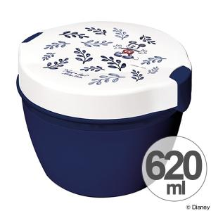 保温弁当箱 カフェ丼 ミッキーマウス 620ml キャラクター ( ランチボックス 保温 お弁当箱 )|interior-palette