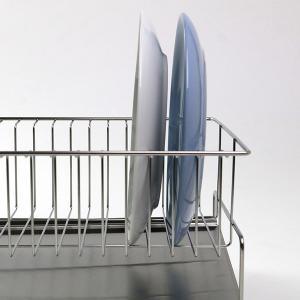 水切りラック お皿が並べられる水切り スリム ステンレス製 幅25cm 当店オリジナル商品 ( 水切りカゴ 水切りかご 水切りバスケット ) interior-palette 06