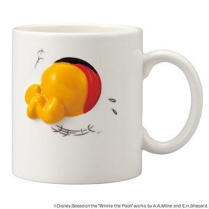 マグカップ くまのプーさん ハプニング マグ 320ml 陶器 食器 キャラクター ( 食洗機対応 ...