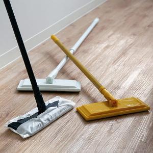 床掃除 フローリングワイパー 本体 プリート Plito フロアワイパー ( 掃除用品 床 モップ ...