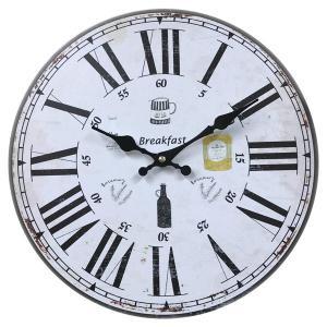 掛け時計 33cm カフェタイム 2 モチーフクロック Cafe Time ( アナログ 時計 壁掛け時計 インテリア 雑貨 )|interior-palette|08
