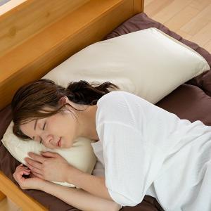 枕 寝返りらくらくまくら 高さ調節機能 カバー付 日本製 ( まくら 洗える 横向き )|interior-palette