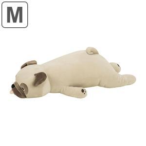 【今だけポイント5倍】抱き枕 ぬいぐるみ 犬 プレミアムねむねむアニマルズ ハナ Mサイズ ( 抱きまくら 動物 イヌ )|interior-palette
