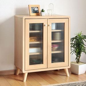 キャビネット 本棚 北欧風 シンプルデザイン 幅60cm ( サイドボード 収納棚 リビングボード )|interior-palette
