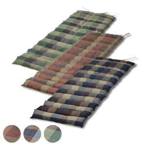 クッション 座布団 インド綿ウール混ロングクッション メルモ 43×120cm ( フロアクッション シートクッション チェアクッション )|interior-palette