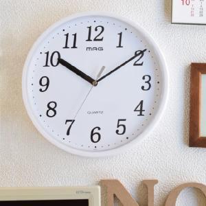 掛け時計 28cm プラスチッタ 落下 割れにくい 防災 減災 ( アナログ 時計 壁掛け時計 インテリア 雑貨 ) interior-palette