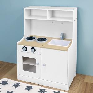 キッチン 木製 おままごと 木製マイシリーズ KISSBABY おままごとマイキッチン 組立品 ( 木のおもちゃ )|interior-palette