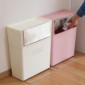 【週末限定クーポン】ゴミ箱 ふた付き 15SW フラップ式 15L コンテナスタイル 分別 ( ごみ箱 ダストボックス つみ重ね ) interior-palette 12