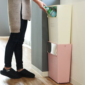 【週末限定クーポン】ゴミ箱 ふた付き 15SW フラップ式 15L コンテナスタイル 分別 ( ごみ箱 ダストボックス つみ重ね ) interior-palette 20