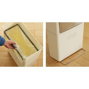 【週末限定クーポン】ゴミ箱 ふた付き 15SW フラップ式 15L コンテナスタイル 分別 ( ごみ箱 ダストボックス つみ重ね ) interior-palette 09