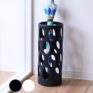 【週末限定クーポン】傘立て 陶器 丸型 アーバン 傘たて アンブレラスタンド ( 傘 かさ立て 玄関 収納 )|interior-palette