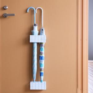 傘立て マグネット スリム コンパクト タイル調 マルチマグネットスタンド 傘たて アンブレラスタンド ( 傘 かさ立て 玄関 収納 )|interior-palette