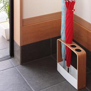 【週末限定クーポン】傘立て スリム コンパクト 木製 傘たて RIN リン アンブレラスタンド ( 傘 かさ立て 玄関 収納 ) interior-palette