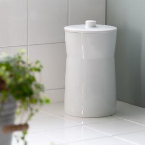 【週末限定クーポン】トイレポット ホワイトガーデン サニタリーペール ( トイレ ごみ箱 ゴミ箱 ) interior-palette