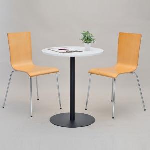 リフレッシュテーブル 直径60cm ブラック脚 丸テーブル ( コーヒーテーブル センターテーブル カフェテーブル ) interior-palette 06