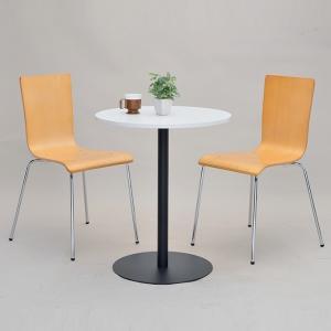 リフレッシュテーブル 直径60cm ブラック脚 丸テーブル ( コーヒーテーブル センターテーブル カフェテーブル ) interior-palette 07