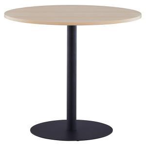 【週末限定クーポン】リフレッシュテーブル 直径80cm ブラック脚 丸テーブル ( コーヒーテーブル センターテーブル カフェテーブル )|interior-palette|04