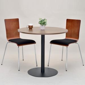 【週末限定クーポン】リフレッシュテーブル 直径80cm ブラック脚 丸テーブル ( コーヒーテーブル センターテーブル カフェテーブル )|interior-palette|07