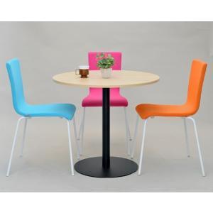 【週末限定クーポン】リフレッシュテーブル 直径80cm ブラック脚 丸テーブル ( コーヒーテーブル センターテーブル カフェテーブル )|interior-palette|08