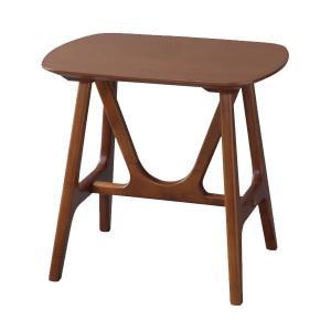 サイドテーブル 幅50cm 天然木 木製 ( コーヒーテーブル 机 テーブル )|interior-palette