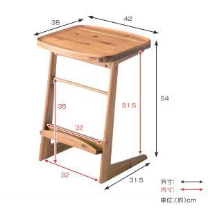 【48時間限定クーポン】サイドテーブル 幅42cm 天然木 木製 ( コーヒーテーブル 机 テーブル ) interior-palette 02
