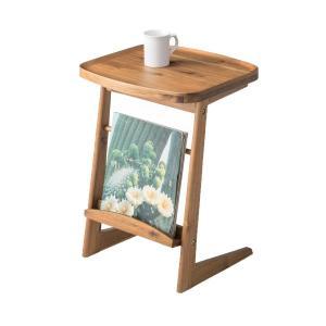 【48時間限定クーポン】サイドテーブル 幅42cm 天然木 木製 ( コーヒーテーブル 机 テーブル ) interior-palette 03