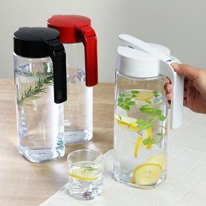 ピッチャー 冷水筒 2.1L ドリンクビオ ワンタッチ 耐熱 縦置き 横置き ( プッシュ式 ポット 冷水ポット 水差し 麦茶ポット ジャグ ) interior-palette 10