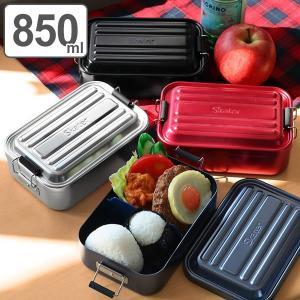 お弁当箱 1段 アルミ SKATER ふわっとランチボックス 仕切り付 850ml ( 弁当箱 スケーター 大容量 メンズ ランチボックス アルミ弁当 アルミランチボックス )|interior-palette