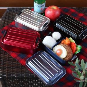 お弁当箱 1段 アルミ SKATER ふわっとランチボックス 仕切り付 850ml ( 弁当箱 スケーター 大容量 メンズ ランチボックス アルミ弁当 アルミランチボックス )|interior-palette|15