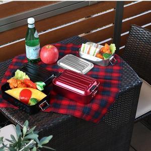 お弁当箱 1段 アルミ SKATER ふわっとランチボックス 仕切り付 850ml ( 弁当箱 スケーター 大容量 メンズ ランチボックス アルミ弁当 アルミランチボックス )|interior-palette|05