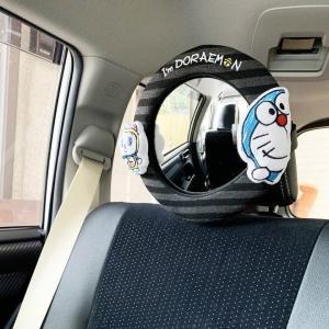 ベビーミラー 車用 I'm DORAEMON カーミラーラウンド 赤ちゃん ( チャイルドシート 車 後部座席 後ろ向き ドラえもん )|interior-palette|07