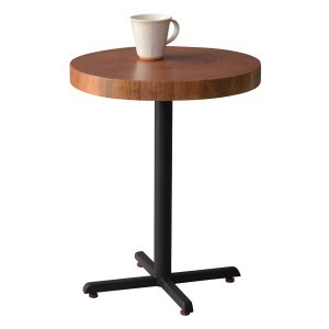 サイドテーブル 円形 天然木 マホガニー 直径40cm ( コーヒーテーブル ソファサイド テーブル ソファサイドテーブル )|interior-palette