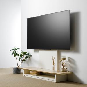 【週末限定クーポン】テレビ台 壁寄せ フロアスタンド 65V型対応 TVラック 幅120cm ( TV台 TVボード TVスタンド 壁よせ ) interior-palette 07